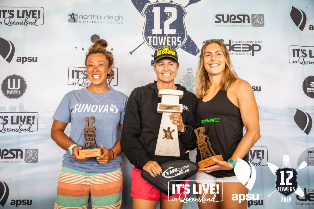 Apsu 12 Towers 2019 top three women's division